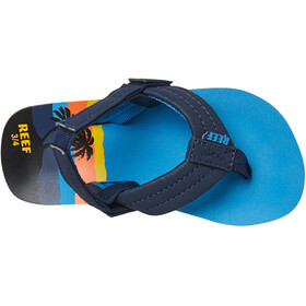Reef Little Ahi Sandalen Kinder blue hawaii